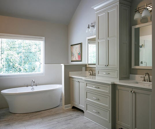 bathroom cabinets Portland