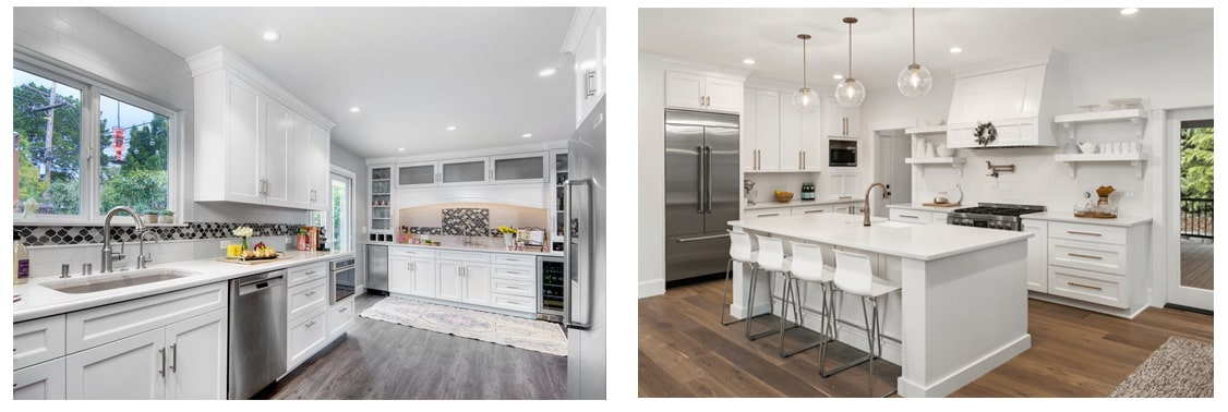 images of renovated kitchens