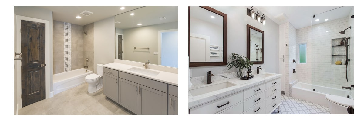 renovated bathroom pictures
